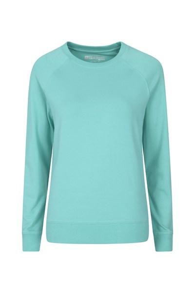 Crew Neck Womens Sweatshirt - Green