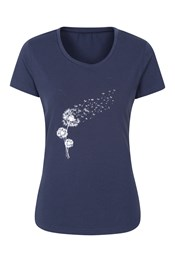 Dandelion Printed Womens T-Shirt