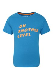 Tee-shirt imprimé « On Another Level » enfant