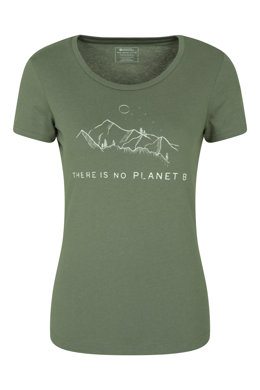 No Planet B Organic - koszulka damska - Green