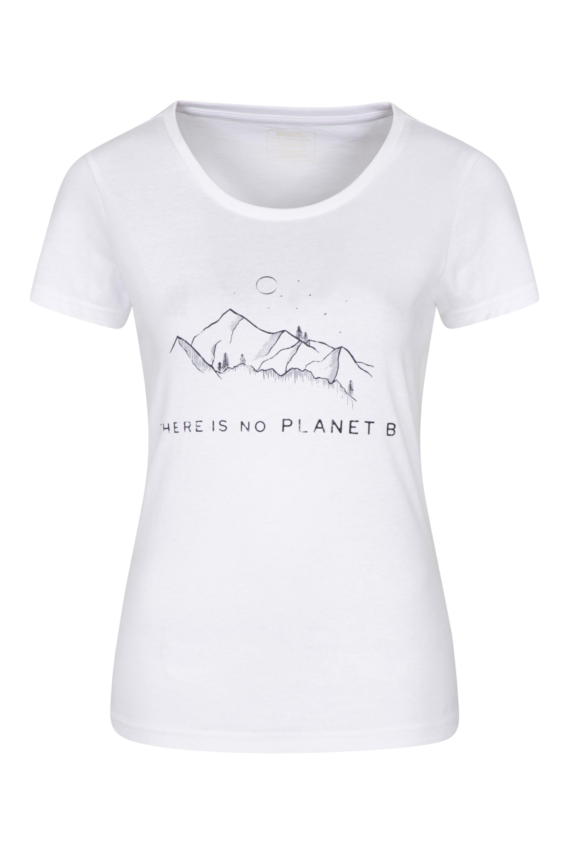 No Planet B Organic - koszulka damska - White