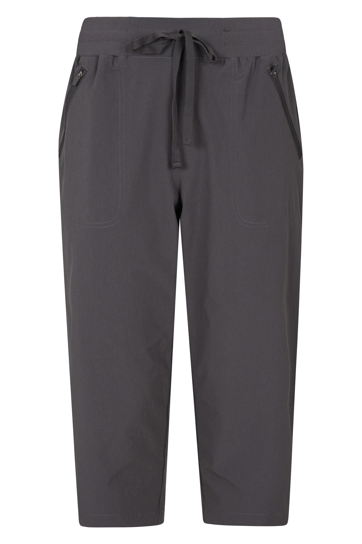 Explorer - spodnie damskie capri - Grey