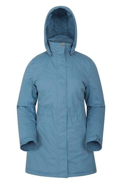 Penzance Womens Waterproof Jacket - Blue