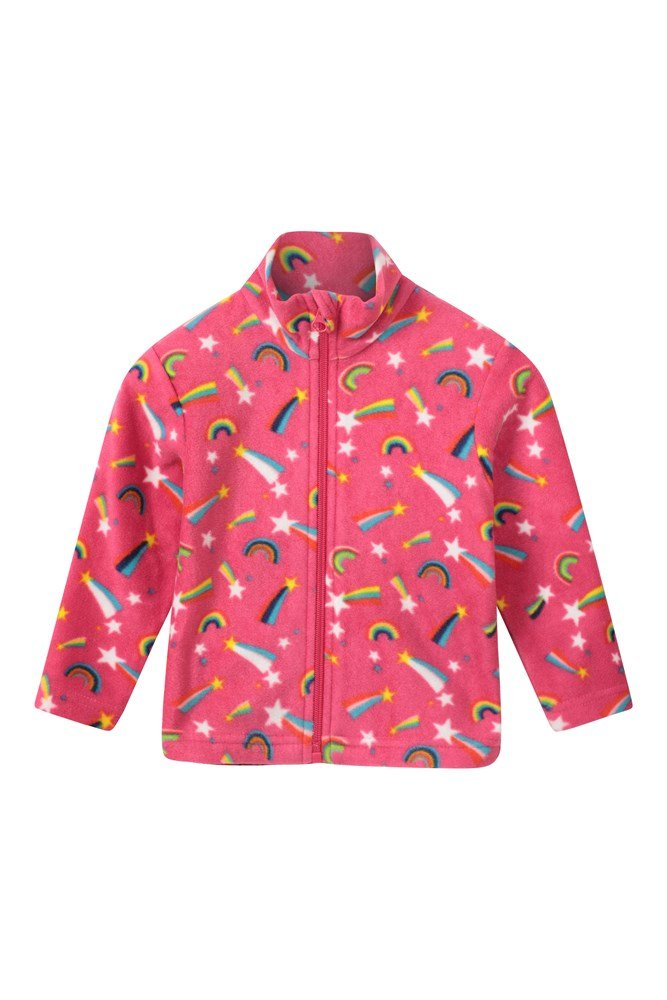 Baby Endeavour Full-zip Fleece - Pink
