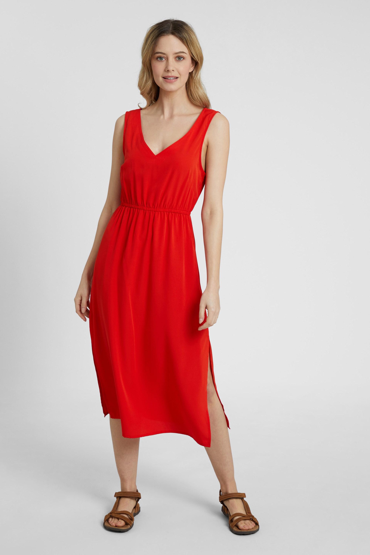Havana Woven - sukienka damska - Orange