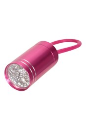 6 LED-Mini Torch with Rubber Strap
