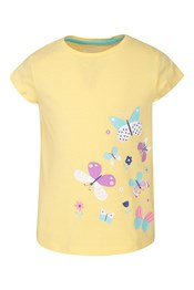 Spring Butterfly Kids SS Tee