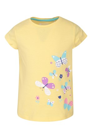 Spring Butterfly Kinder T-Shirt