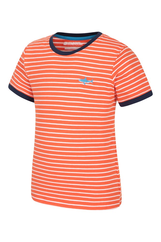 Mountain Warehouse Kid Stripe Kids Tee Tshirt