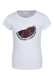Camiseta Watermelon Sequin Niños