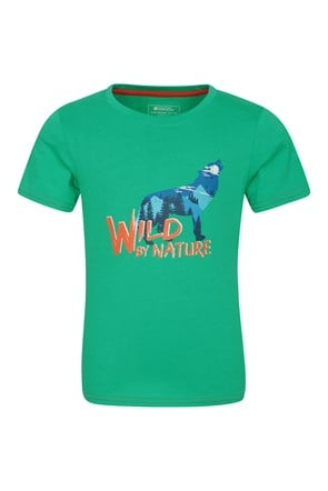 T-Shirt Enfant Coton Organique Wild By Nature
