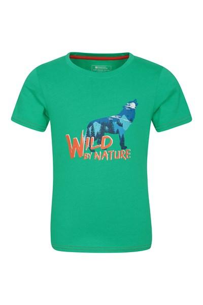 Wild By Nature Organic Cotton Boys T-Shirt - Green