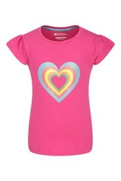 Glitter Hearts Kids T-Shirt