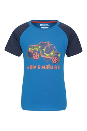 T-Shirt Enfant Adventure Jeep