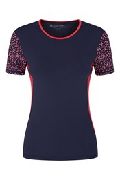 Womens Round Neck Rash Vest Tee