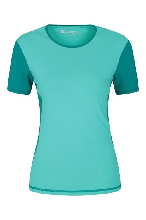 Mountain Warehouse WMS Femme col rond manches courtes Rash Vest