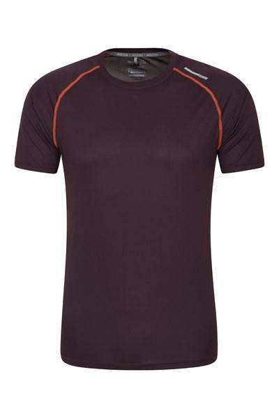 Aero II IsoCool Mens T-Shirt - Purple