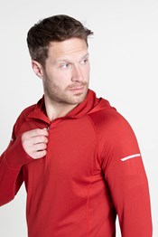 Echo Recycle Mens Half-Zip Hoodie