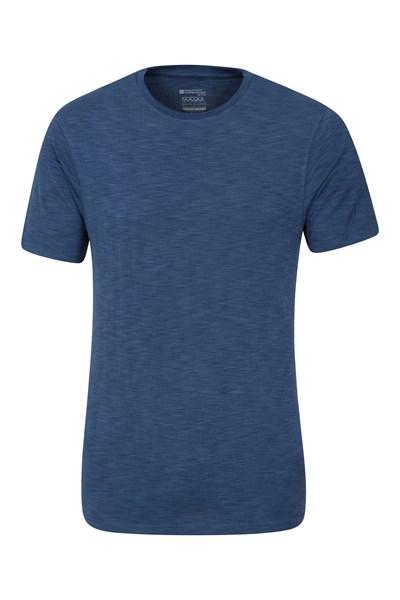 Cosmo Stripe IsoCool Mens T-Shirt - Blue