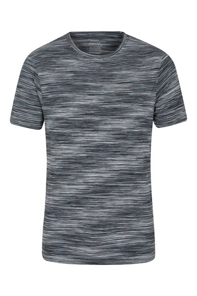 Cosmo Stripe IsoCool Mens T-Shirt - Grey