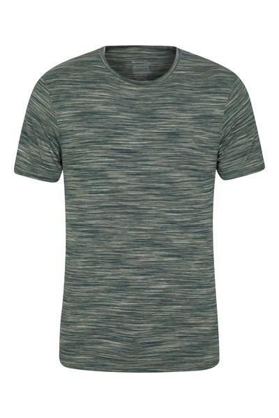 Cosmo Stripe IsoCool Mens T-Shirt - Green