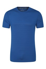 Trace Textured Mens Stripe T-Shirt