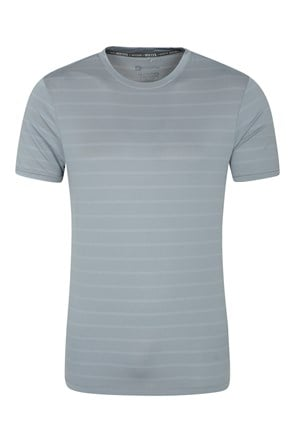 Trace Textured Mens Stripe Tee