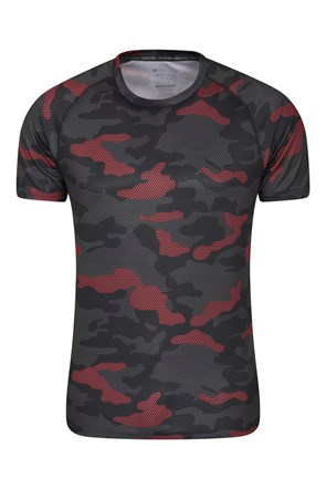 Swift Printed Mens Isocool Tee