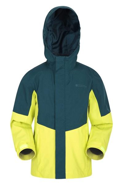 Meteor Kids Waterproof Jacket - Green