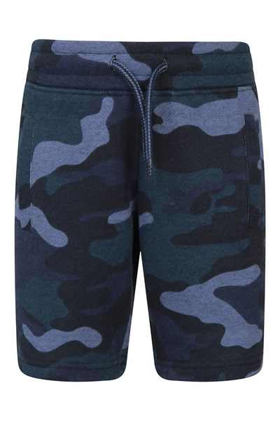Jersey Kids Printed Shorts - Green