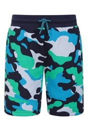 Jersey Kids Printed Shorts