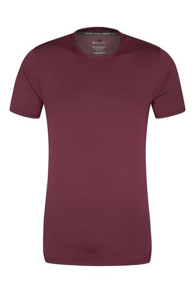 Mantra IsoCool Mens T-Shirt - Burgundy