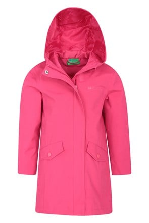 Orbit Kids Longline Waterproof Jacket