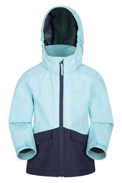Cloudburst Kids Waterproof Jacket - Teal