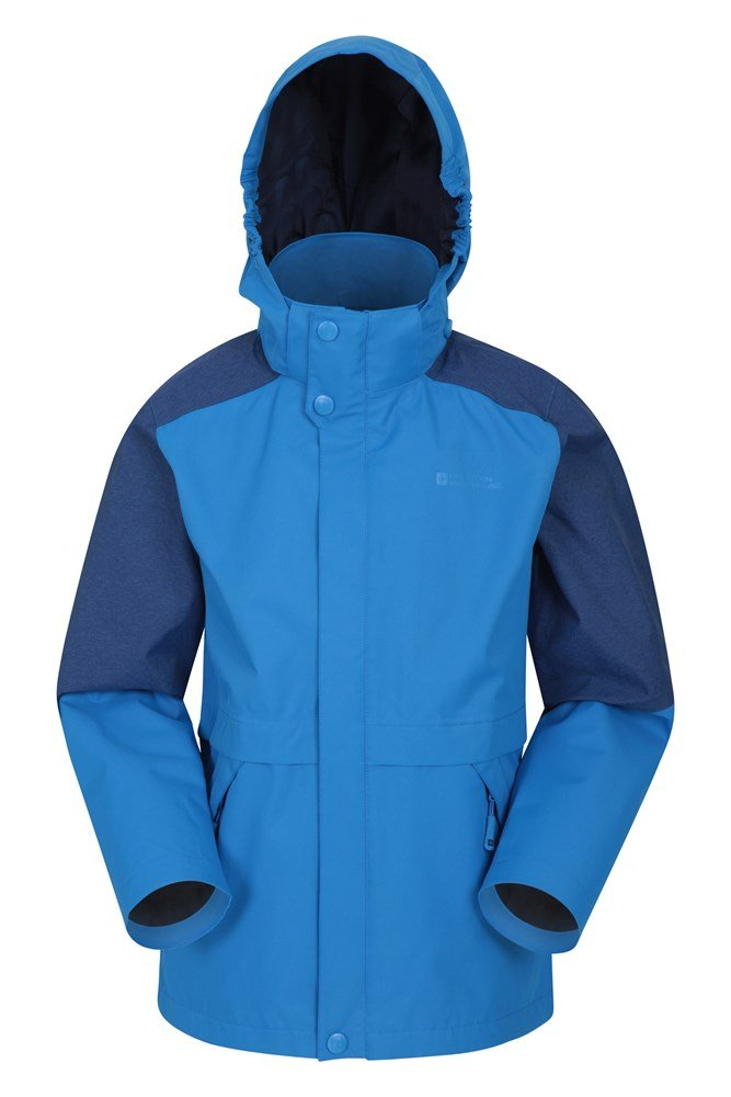 Tornado Kids Waterproof Jacket - Blue