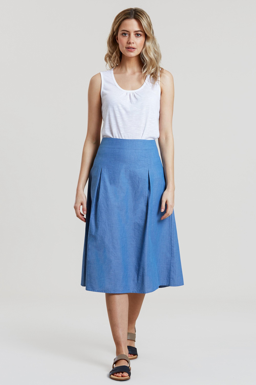 Monaco Woven - Spódnica damska - Blue