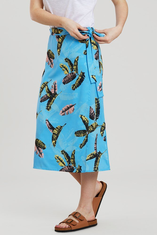 Corfu Woven - spódnica damska - Blue