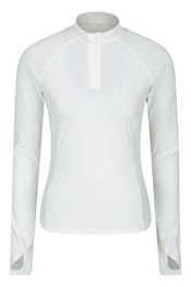 Womens Zipped UV Rash Vest