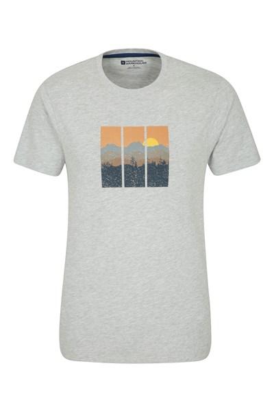 Vertical Limits Mens T-Shirt - Grey