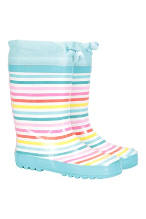 Rainbow Kids Rubber Wellies