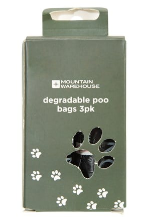 Degradable Dog Poo Bags - 3 Pk