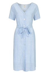 Sunshine Womens Buttoned Dress