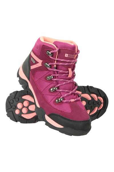 Trail Waterproof Kids Boots - Pink