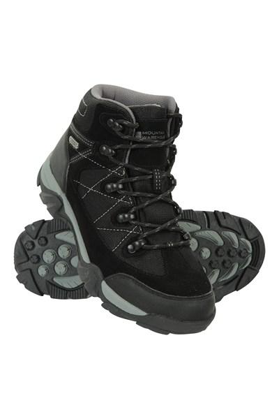 Trail Waterproof Kids Boots - Black