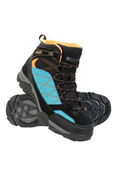 Trail Waterproof Kids Boots - Dark Grey