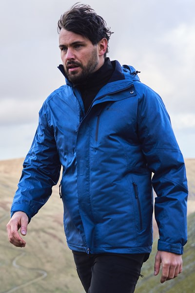 Climb 3 In 1 Extreme Waterproof Jacket - Blue
