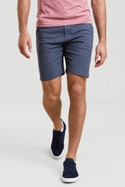 Chambray Mens Shorts