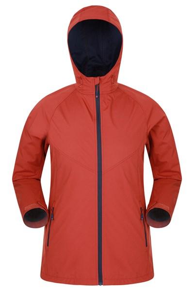 Amble Lightweight Mens Softshell Jacket - Orange