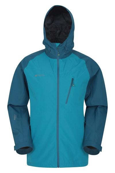 Terrain Extreme 3-Layer Mens Waterproof Jacket - Dark Grey