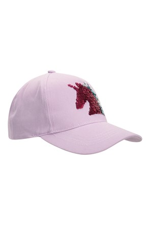 Unicorn Sequin Kids Baseball-Cap